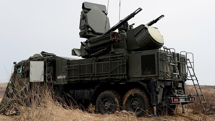 Rusia blinda su frontera oriental con sistema antiaéreos Pántsir-S1