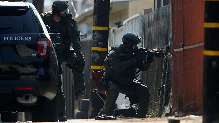 Reportan una toma de rehenes cerca del aeropuerto de Newark, EE.UU.