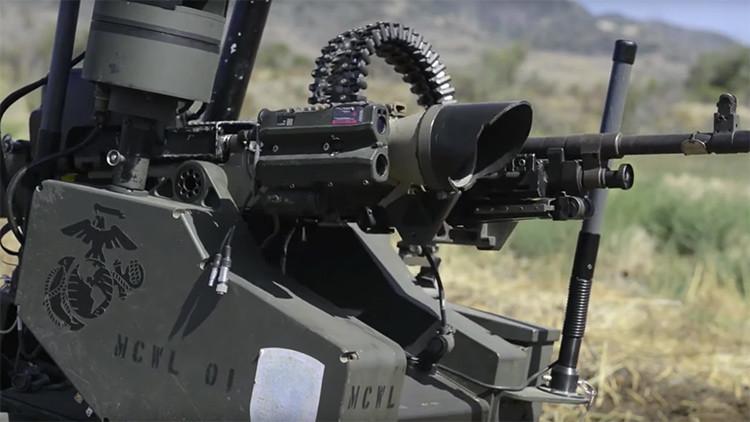 La Marina de EE.UU. pone a prueba sus sorprendentes vehículos de combate no tripulados (video)