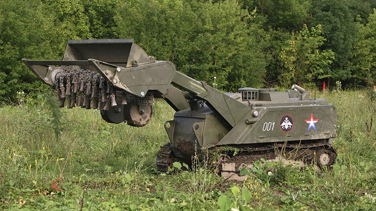 ¿Qué robots de combate defenderán a Rusia?