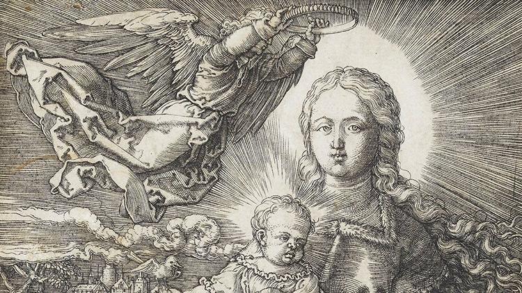 Compra un valiosísimo grabado renacentista por unos pocos euros