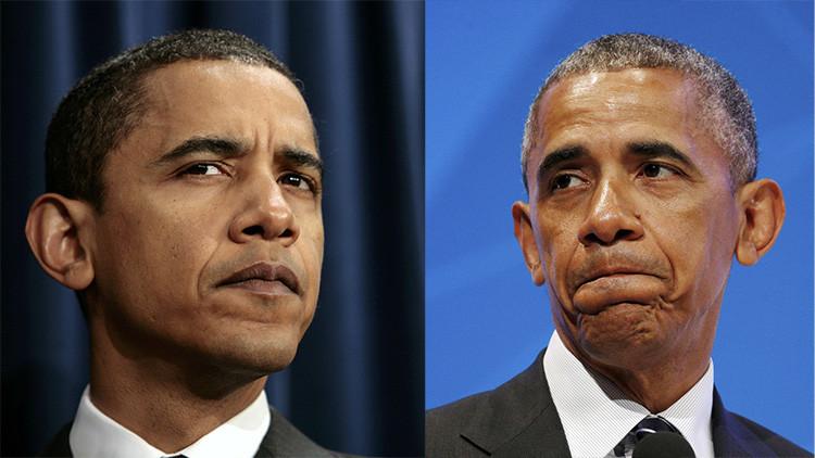 Lo que el tiempo se llevó: Ocho años de mandato surten efecto en la apariencia de Obama