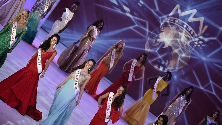 Finalistas del certamen Miss Mundo 2014 en Londres, Reino Unido, el 14 de diciembre de 2014.