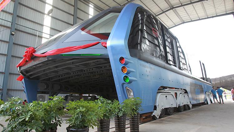 """El 'autobús del futuro' chino puede ser parte de una """"estafa financiera"""""""