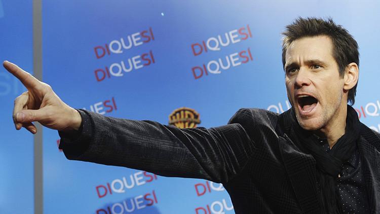 """""""Jim Carrey tras pasar un mes en Rusia"""": El actor se asombra por el parecido con su 'doble ruso'"""