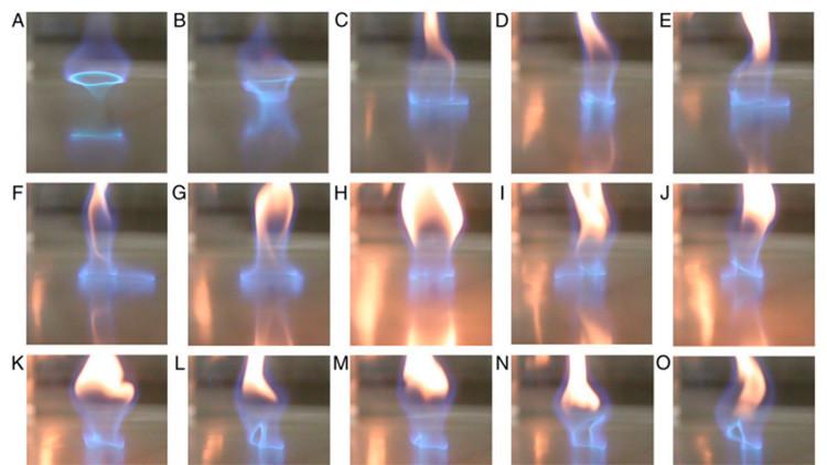 Video: Descubren un nuevo tipo de fuego azul