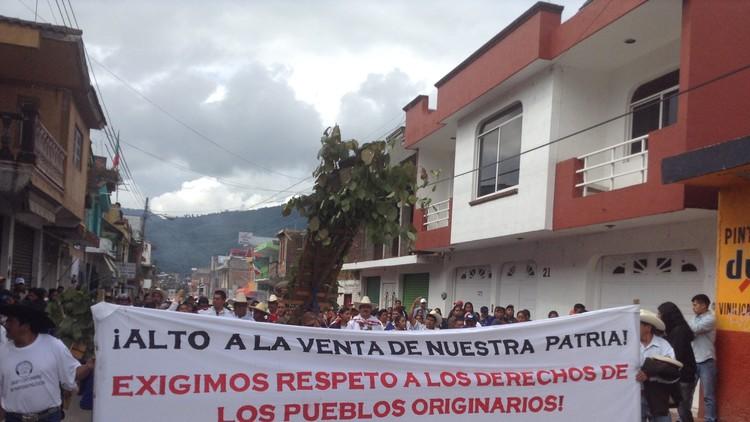 """Indígenas mexicanos a RT: """"No tenemos nada que festejar"""""""