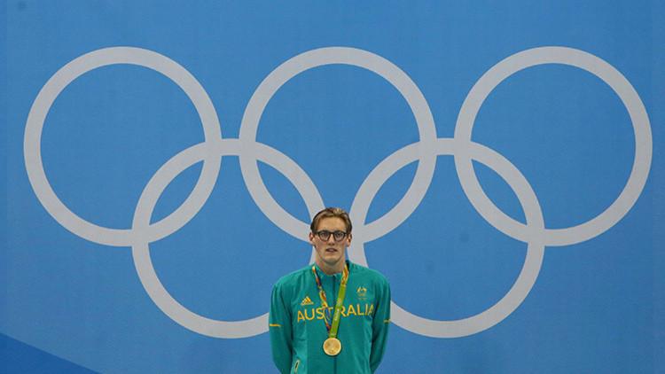 Río 2016: Un nadador australiano abre un conflicto diplomático con China