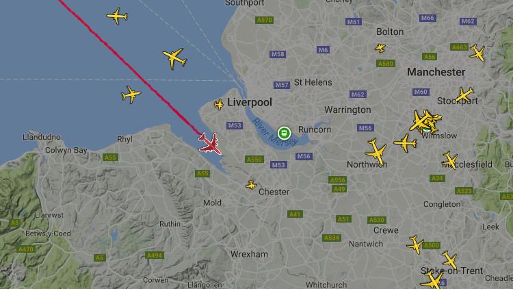 Un avión de British Airlines declara emergencia en pleno vuelo