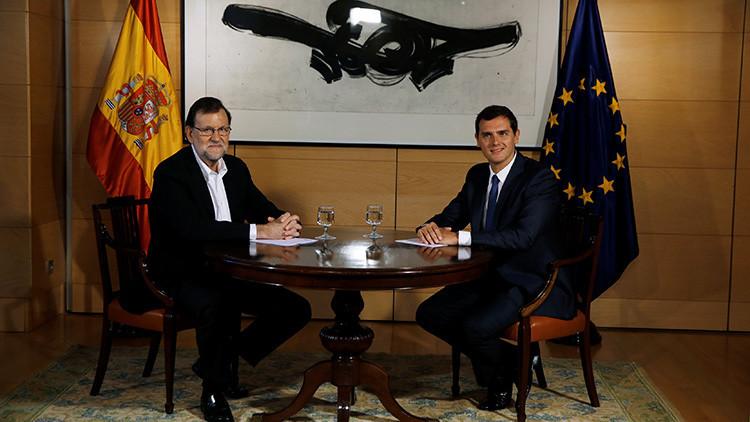 "Rivera: ""Por España estoy dispuesto a sentarme con aquellos que creo que no se merecen gobernar"""