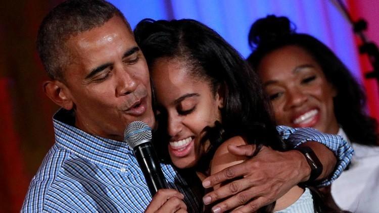 Video: Graban a la hija mayor de Obama supuestamente fumando marihuana