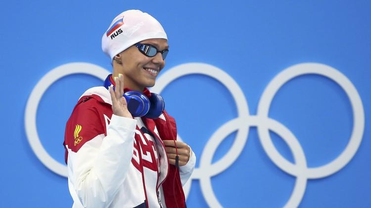 Río 2016: La nadadora rusa Yulia Efímova se clasifica para la final de 200 metros braza