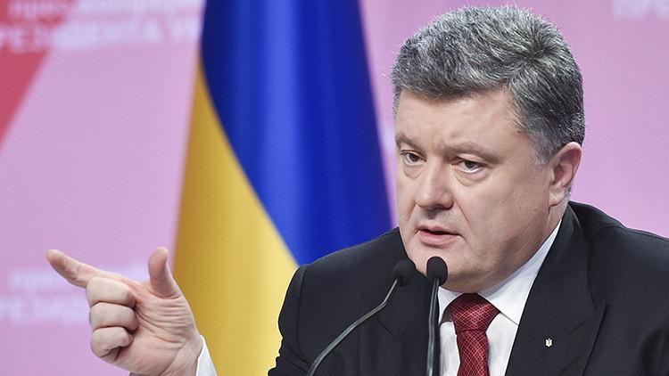 El presidente ucraniano ordena abrir el diálogo con Putin