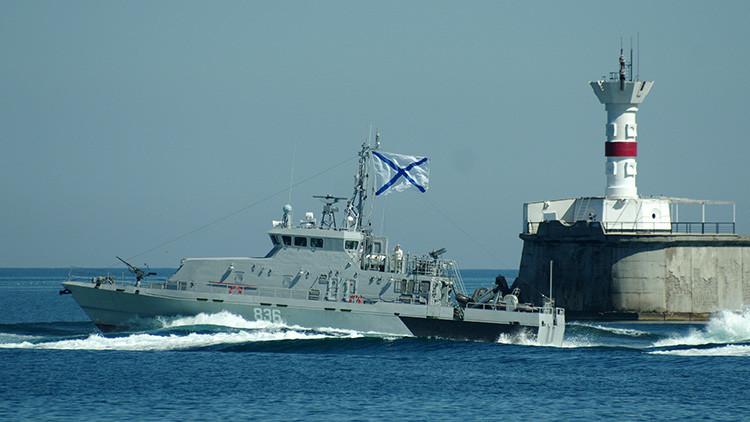 La Flota rusa del mar Negro inicia ejercicios de operaciones antisabotaje