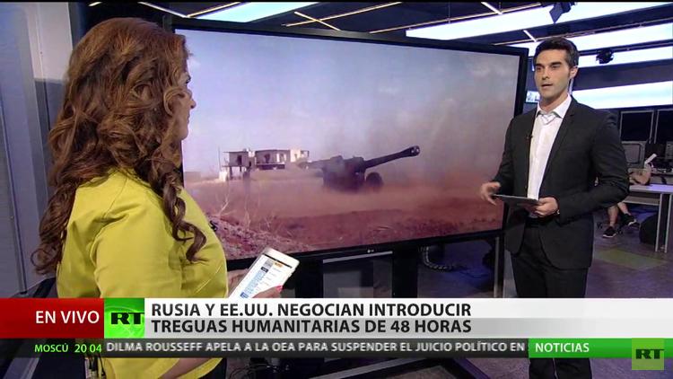 Nuevas treguas para ayuda humanitaria en Siria