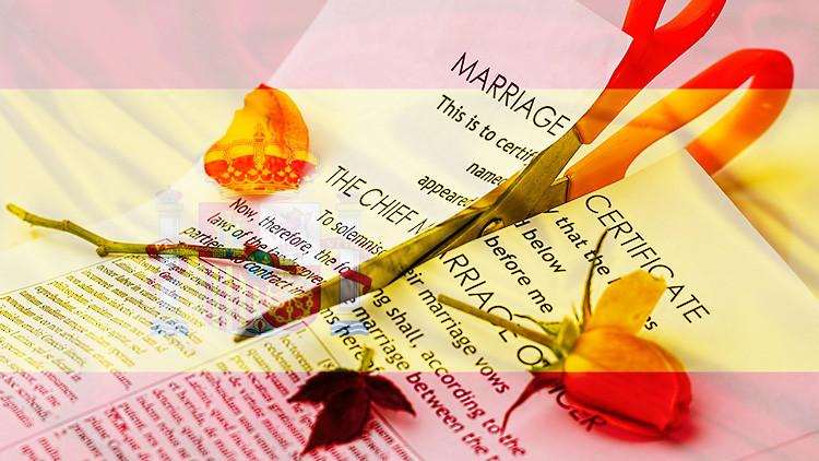 España: un divorcio cada 5 minutos