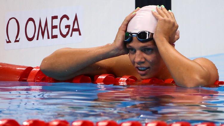 Río 2016: La nadadora rusa Yulia Efímova consigue la plata en 200 metros braza