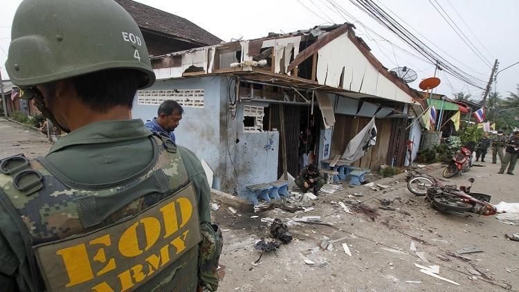 Varias explosiones sacuden zonas turísticas en Tailandia