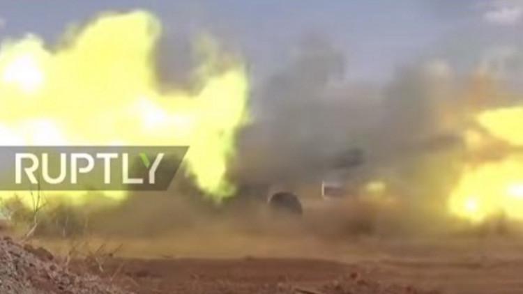 Video: El Ejército sirio y Hezbolá lanzan una contraofensiva en Alepo