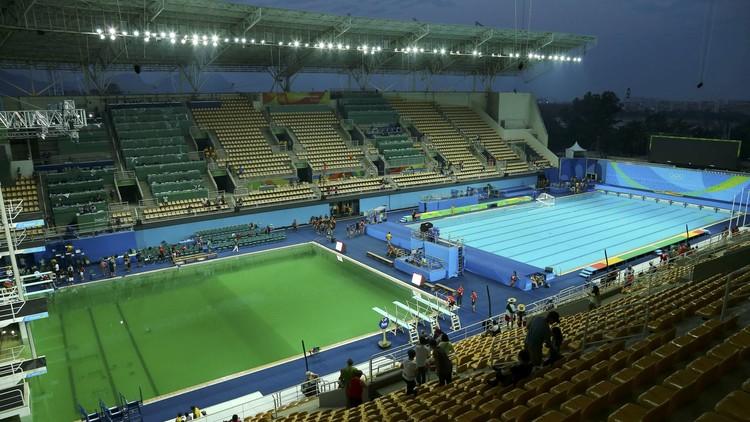 Cierran una de las piscinas que se tornó verde durante los JJ.OO. de Río