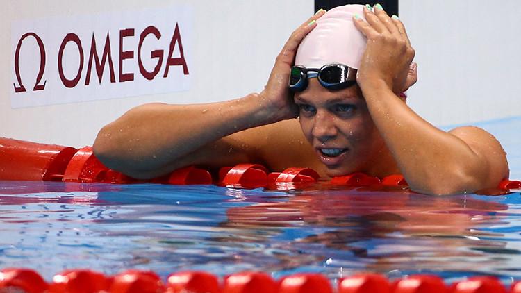 El COI condena la falta de respeto hacia la nadadora rusa Yulia Efímova y otros atletas