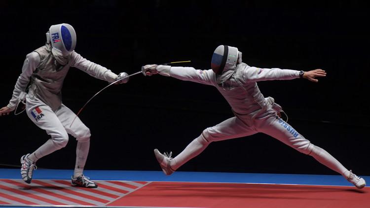 Río 2016: Rusia consigue el oro en esgrima con florete por equipos