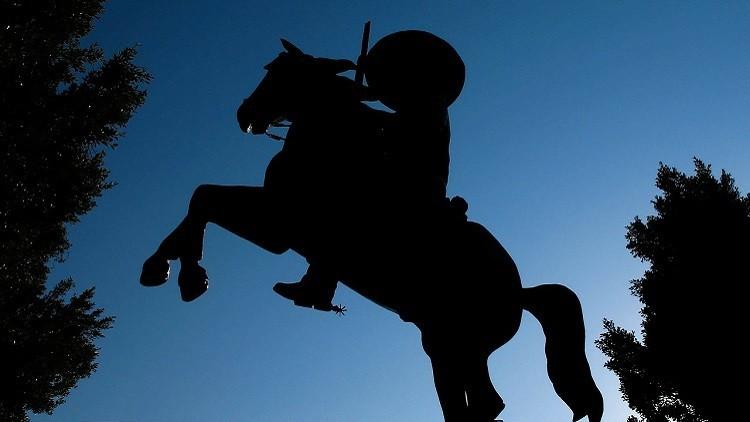 Un limo de procedencia desconocida 'ataca' monumentos históricos de EE.UU.
