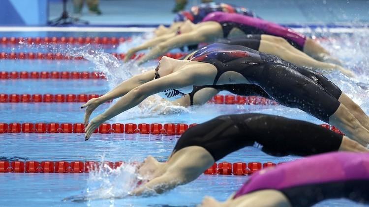 ¿Están desnudos? Un efecto televisivo 'quita la ropa' a los nadadores de Río 2016