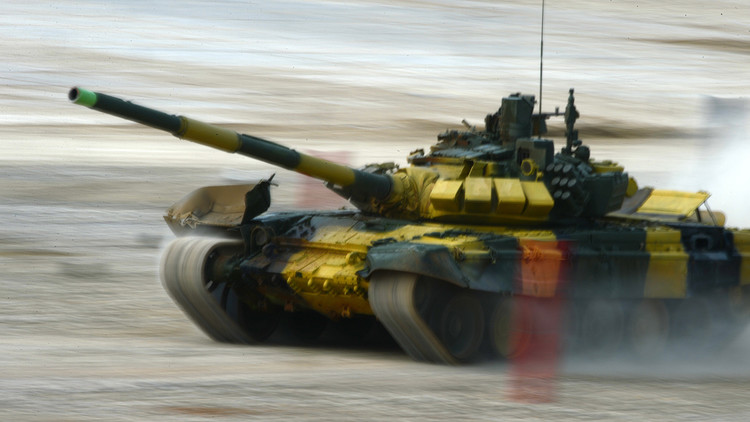 La batalla final del Biatlón de tanques cierra las 'olimpiadas' militares en Rusia