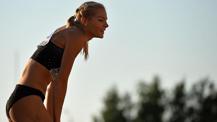 Klíshina, la única atleta rusa autorizada para competir en Río ha sido suspendida