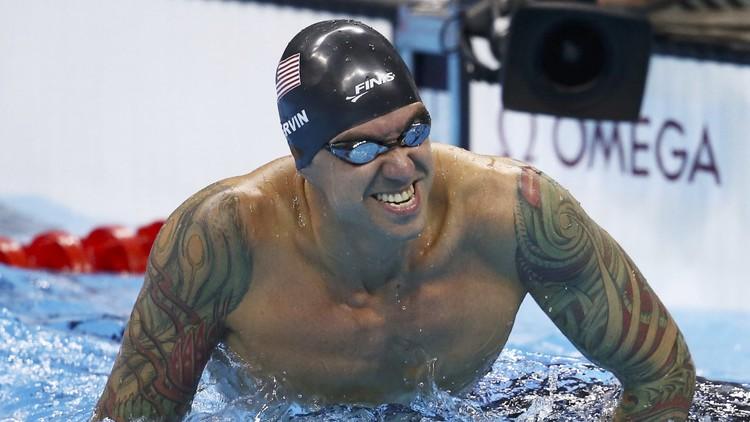 La increíble y tortuosa historia de Anthony Ervin, el campeón de natación más 'viejo' de la historia