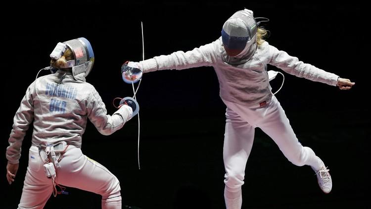 Río 2016: Las esgrimistas rusas se llevan el oro  en sable por equipos femenino