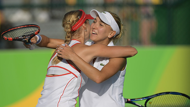 Río 2016: Rusia consigue el oro en dobles femenino de tenis