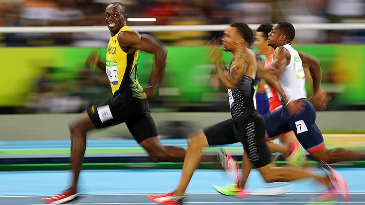 La velocidad de Usain Bolt, hecha meme