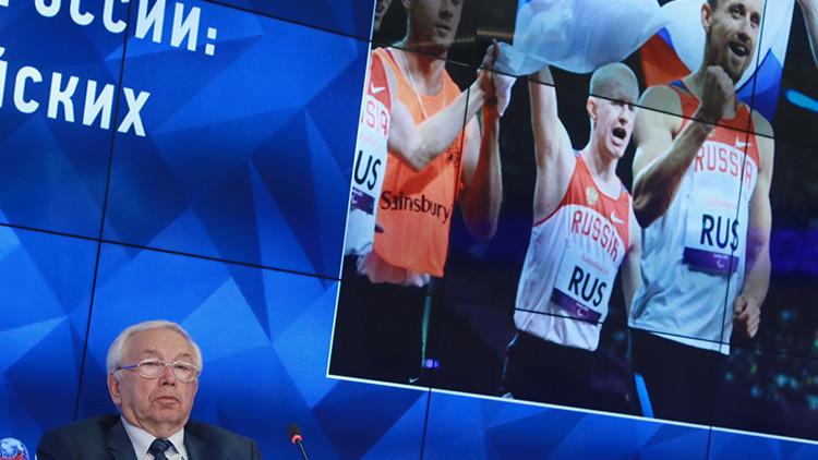 El Comité Paralímpico de Rusia recurre la exclusión de la delegación de los Juegos de Río