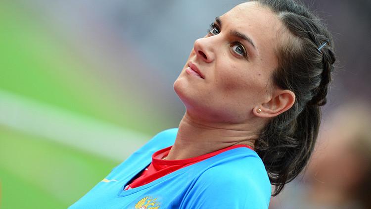 """Yelena Isinbáyeva: """"Nunca perdonaré no haber sido admitida en las Olimpiadas"""""""