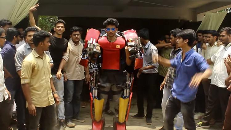 Un indio construye un exoesqueleto por 750 dólares inspirado en 'Avatar' (video)