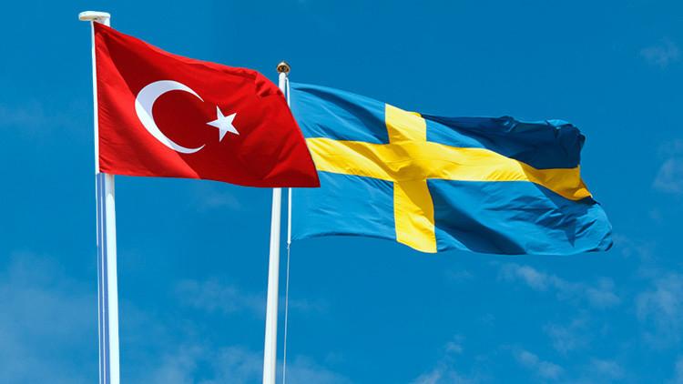 Turquía y Suecia se enfrentan debido a un tuit de Estocolmo