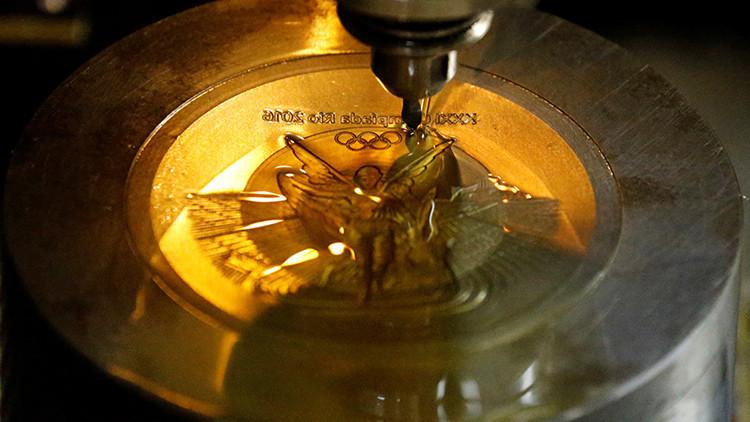¿De qué material están realmente hechas las medallas olímpicas?