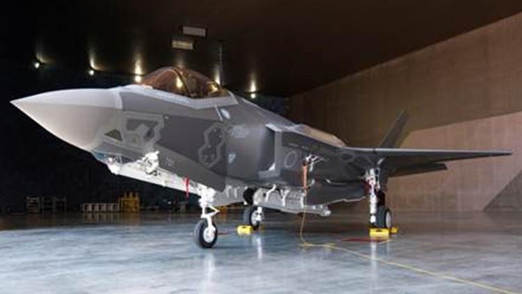 Muestran el primer caza F-35A de fabricación estadounidense que reforzará al Ejército japonés