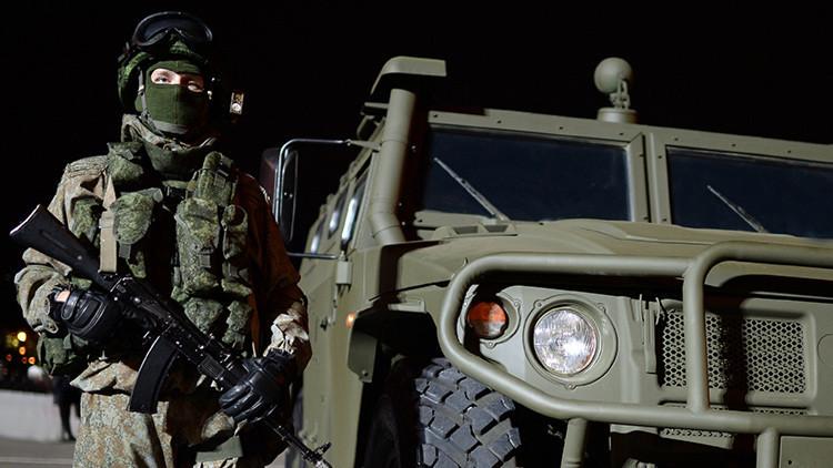 Rusia mostrará en septiembre al 'soldado del futuro'