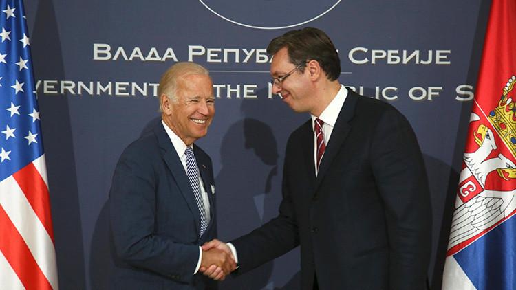 """¿Puede ser """"amigo de Serbia"""" el vicepresidente de EE.UU. que en 1999 apoyó el bombardeo de Belgrado?"""