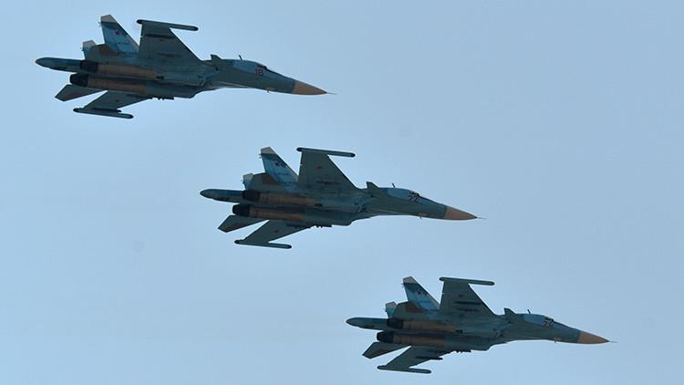 Aviones rusos despegan de Irán y eliminan objetivos del EI en Siria
