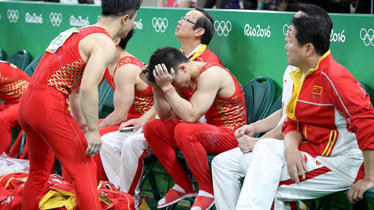 """La """"robótica"""" gimnasia china no obtiene oros en unos JJ.OO. por primera vez desde 1984"""