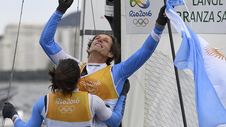 Espíritu de superación: Logra en Río el oro olímpico a los 54 años y con un pulmón operado
