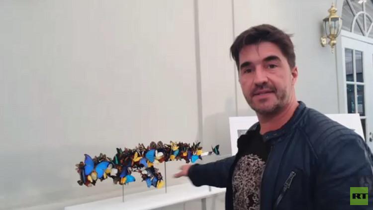 EE.UU.: Prohíben obras de arte contemporáneo creadas a partir de fusiles Kaláshnikov
