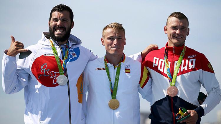 Los medallistas de bronce son más felices que los que obtienen la plata