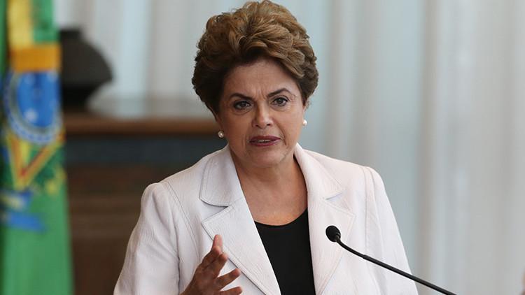 Dilma Rousseff acudirá al Senado para defenderse en el juicio político