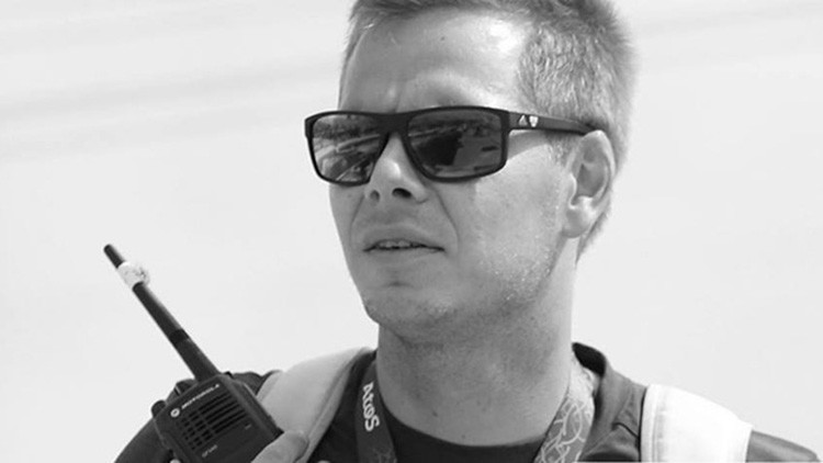 El entrenador del equipo alemán de piragüismo en eslalon, Stefan Henze