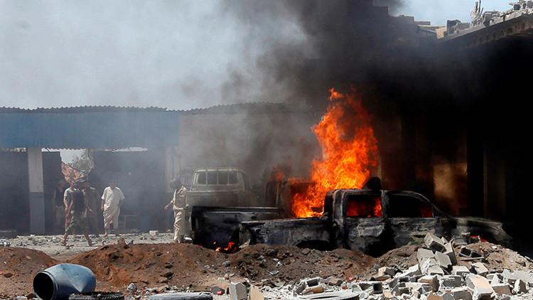 El Estado Islámico recurre por primera vez a mujeres suicidas para atacar al Ejército libio